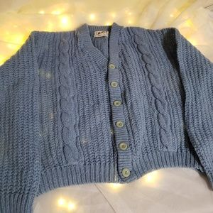 True vintage Mohair cardigan by Barclay